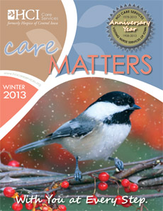 Winter 2013 CareMatters 2013 cover